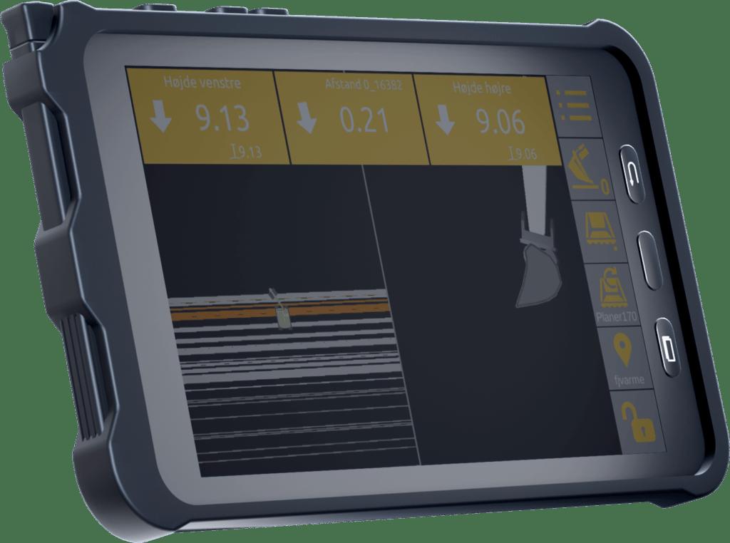unicontrol-3D-maskinstyring-GPS-tablet-interface-