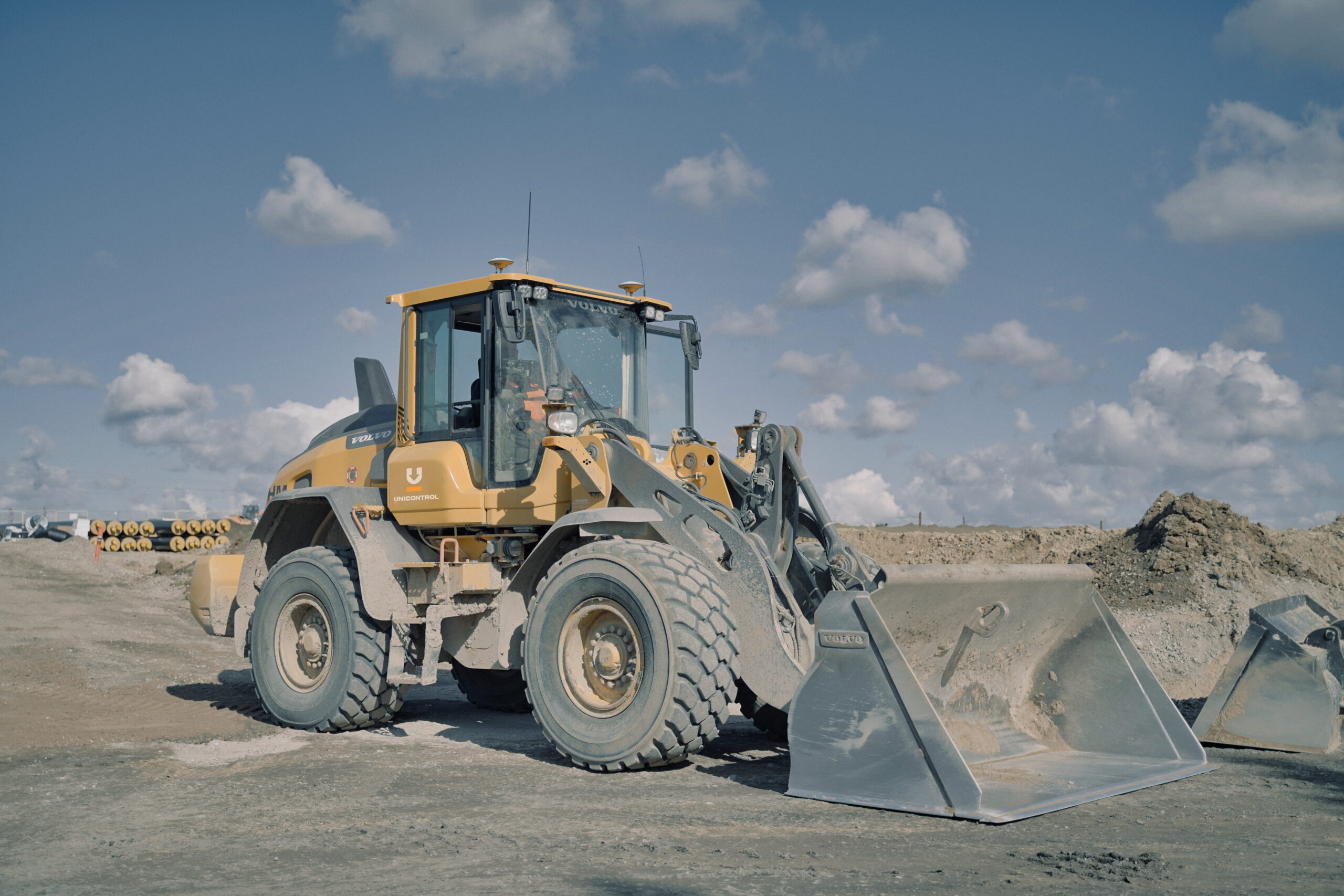 Wheel Loader with GNSS edited_